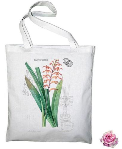Sac Tote Bag Botanique Antholyza